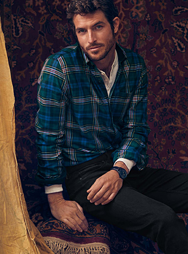 Tartan check shirt  Modern fit