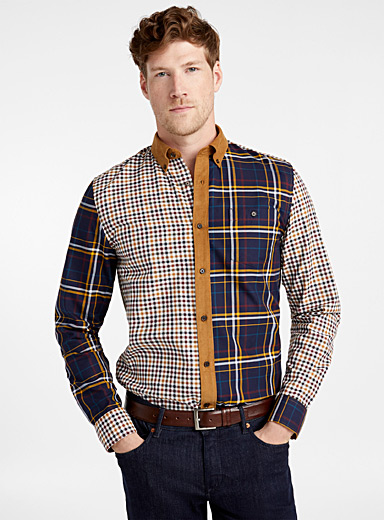 Mixed heritage shirt  Modern fit