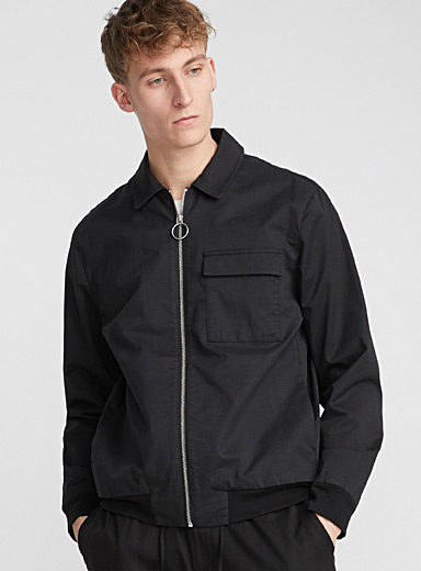 Le blouson Harrington moderne