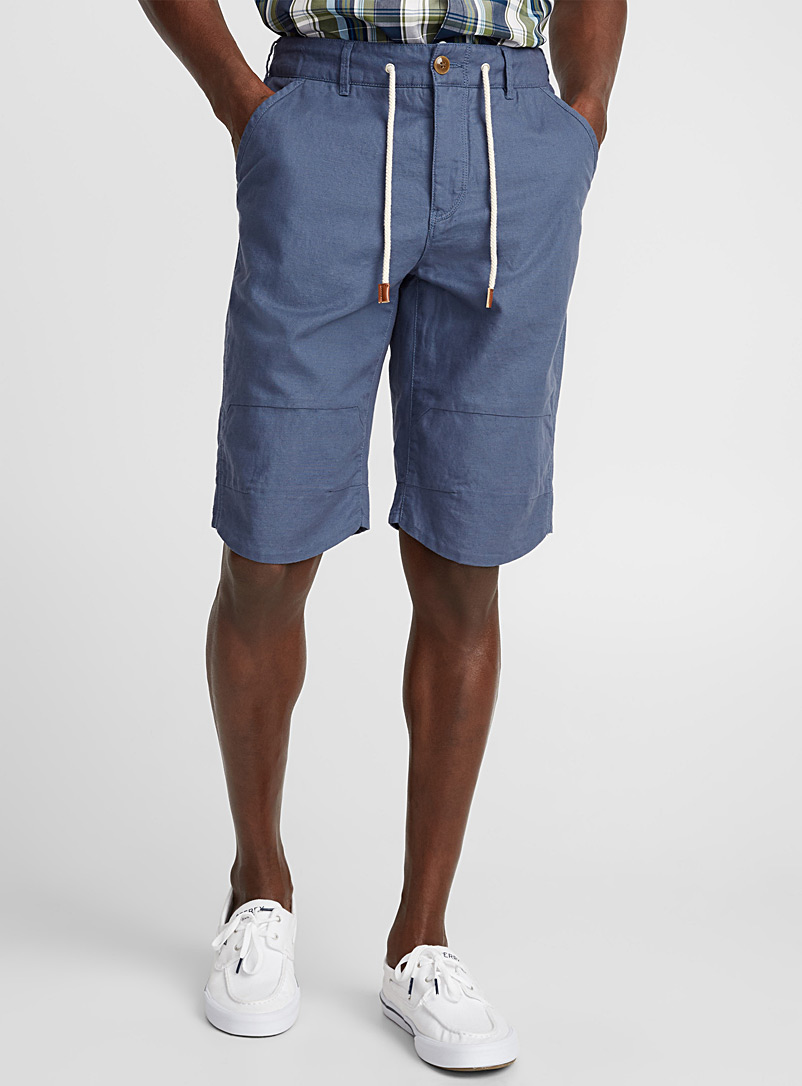 cotton-and-linen-bermudas