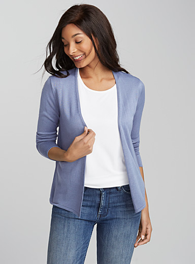 Sleek light cardigan