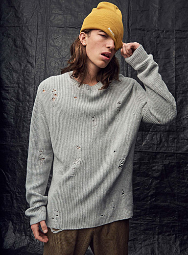 Distressed Tunstall Road sweater