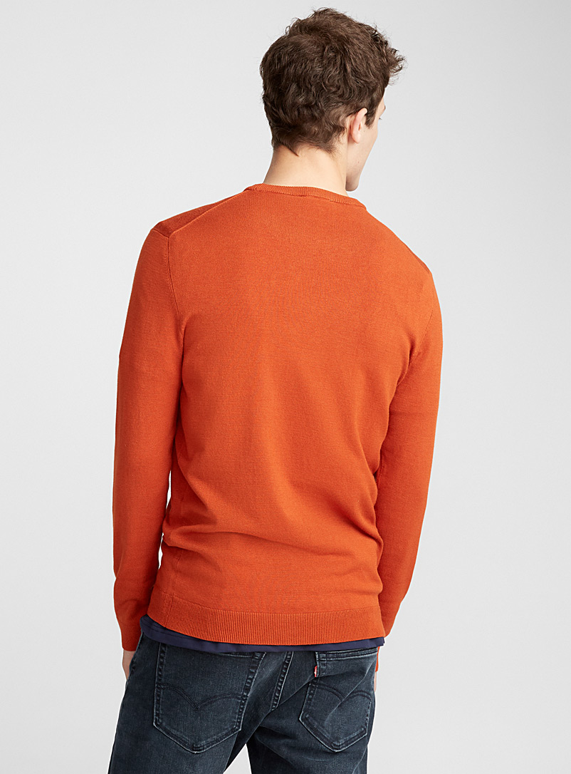 Le pull col rond maille lustrée - Cols ronds - Toast