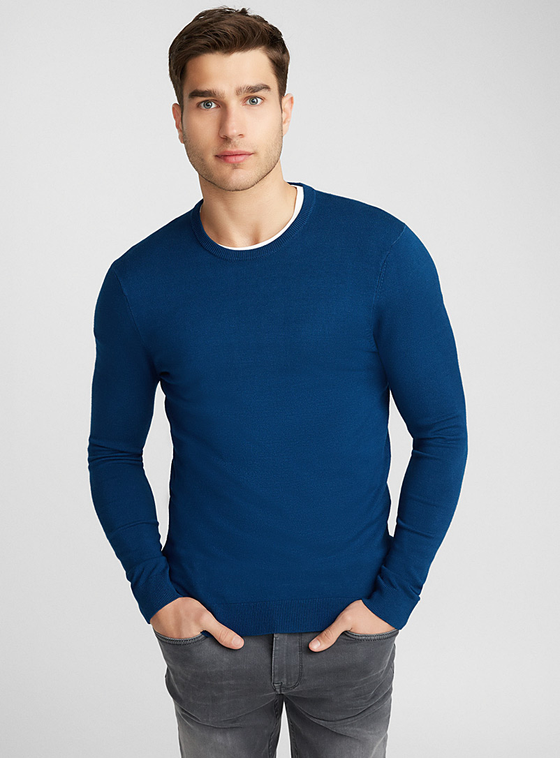 le-pull-col-rond-lustre