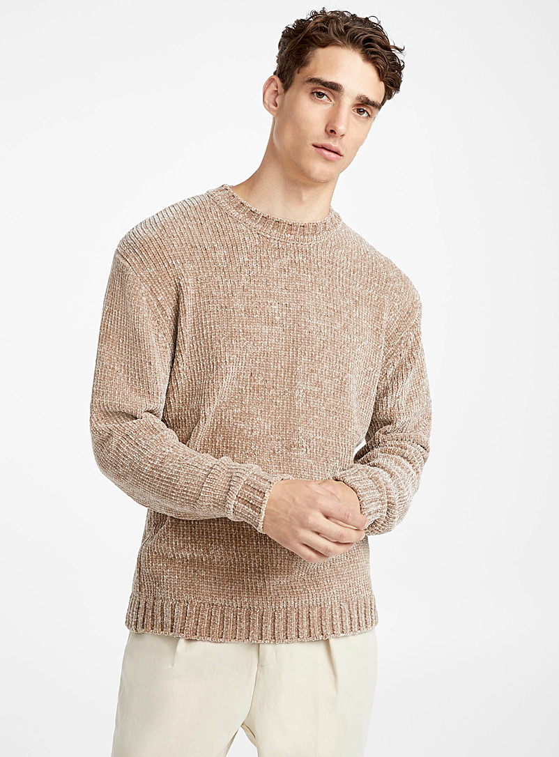shiny-chenille-knit-sweater
