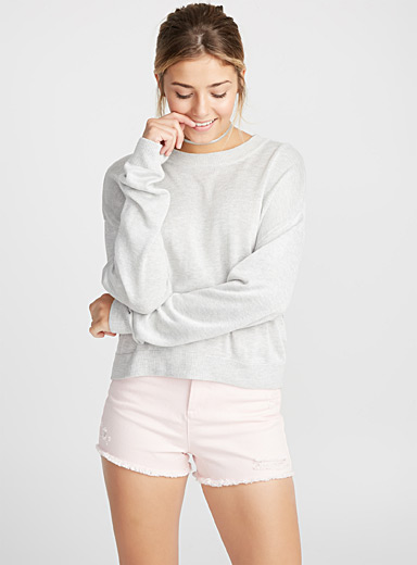 Le pull ample totale viscose