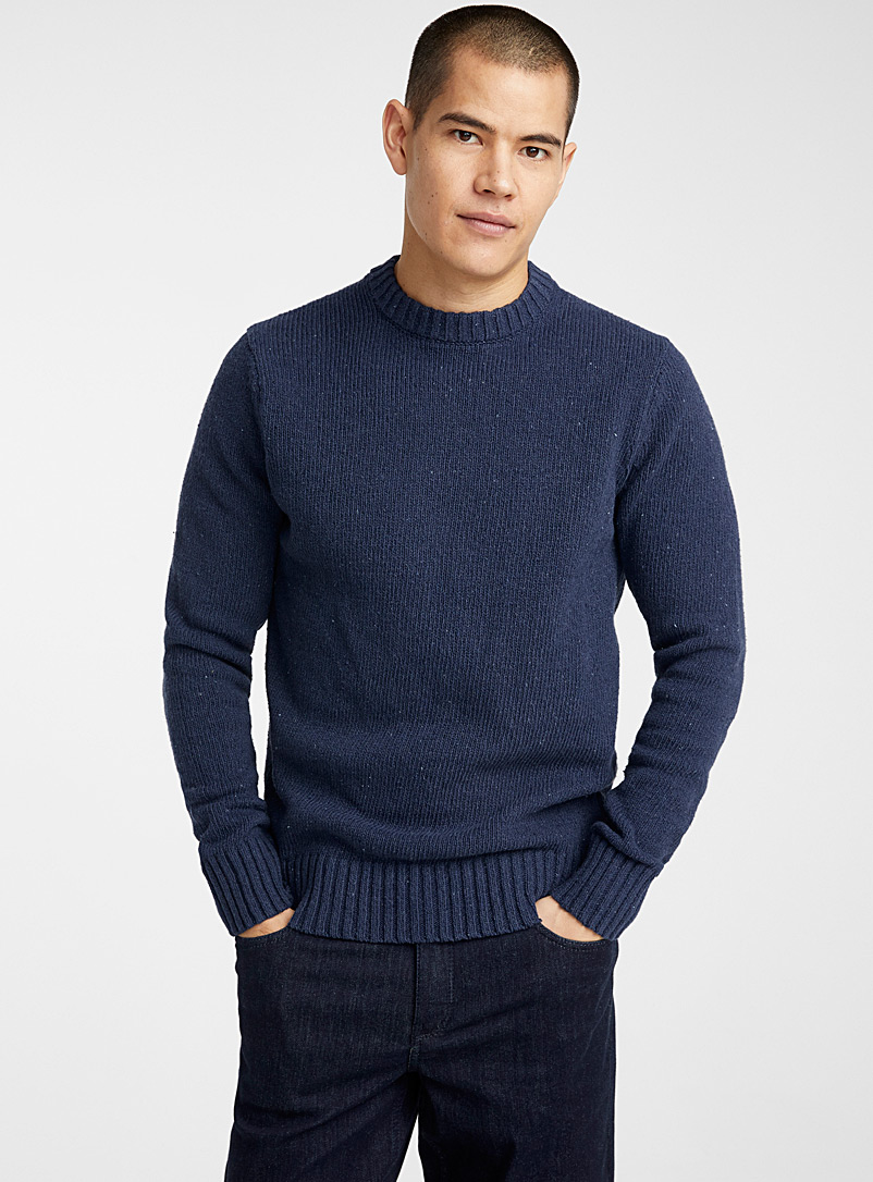recycled-denim-knit-sweater