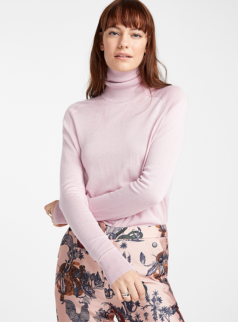 Essential turtleneck sweater - Sweaters - Dusky Pink