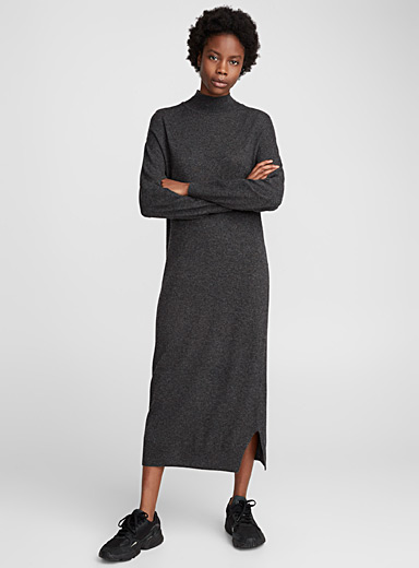 Cashmere-touch knit dress