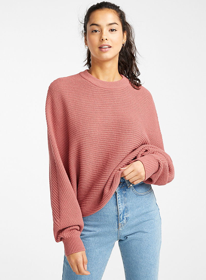 recycled-polyester-batwing-cropped-sweater