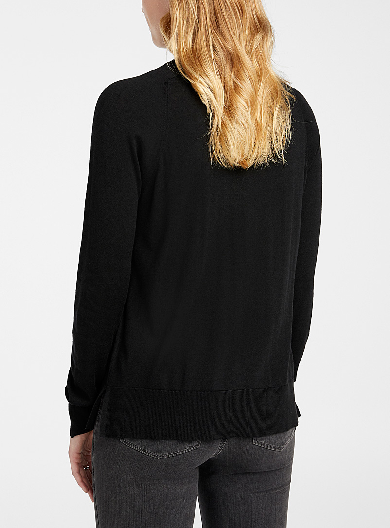 Contemporaine Assorted Loose mock-neck sweater for women