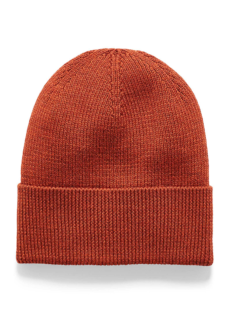 Simons Kelly Green Responsible merino wool tuque for women