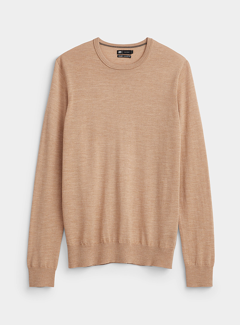 Responsible merino crew-neck sweater