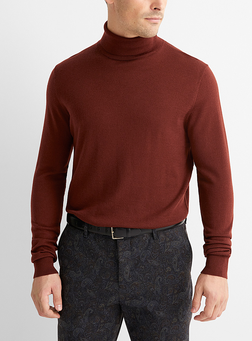 Responsible merino wool turtleneck