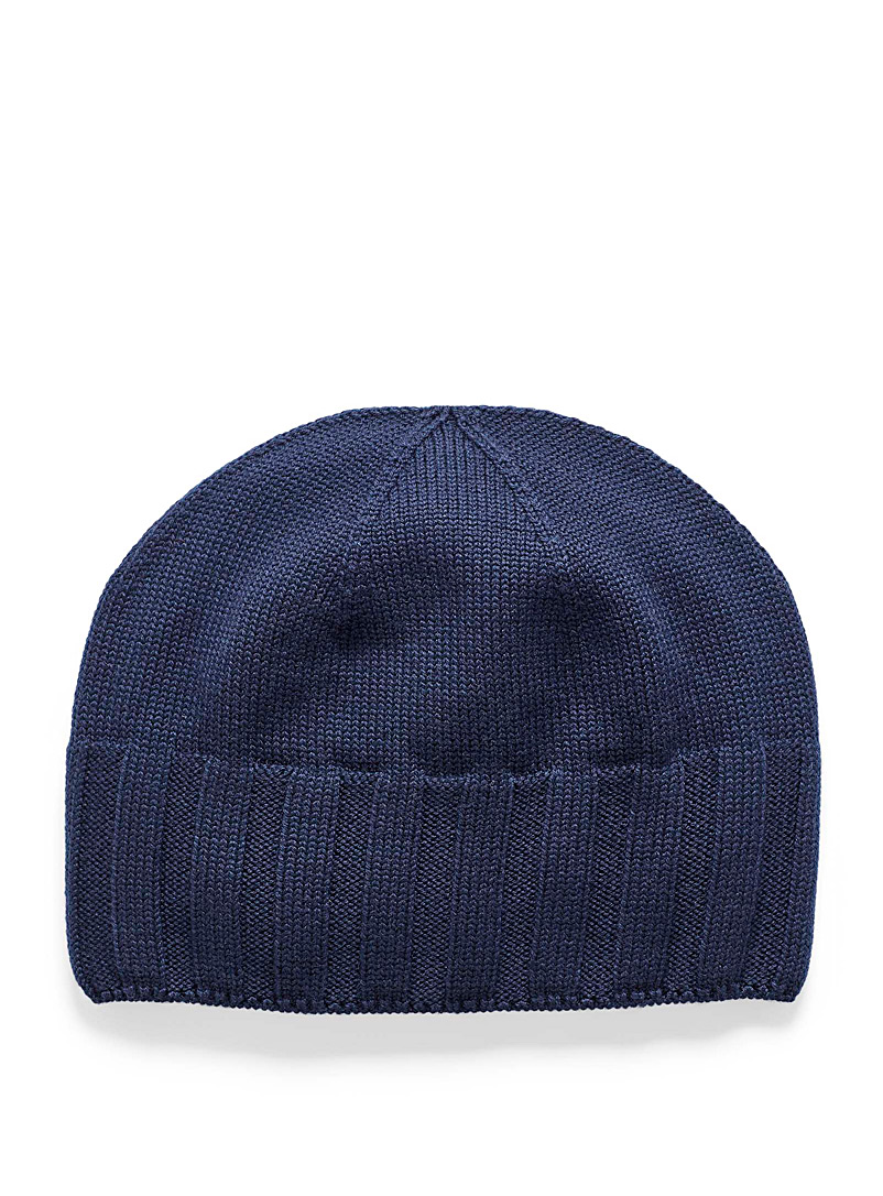 Responsible merino wool tuque