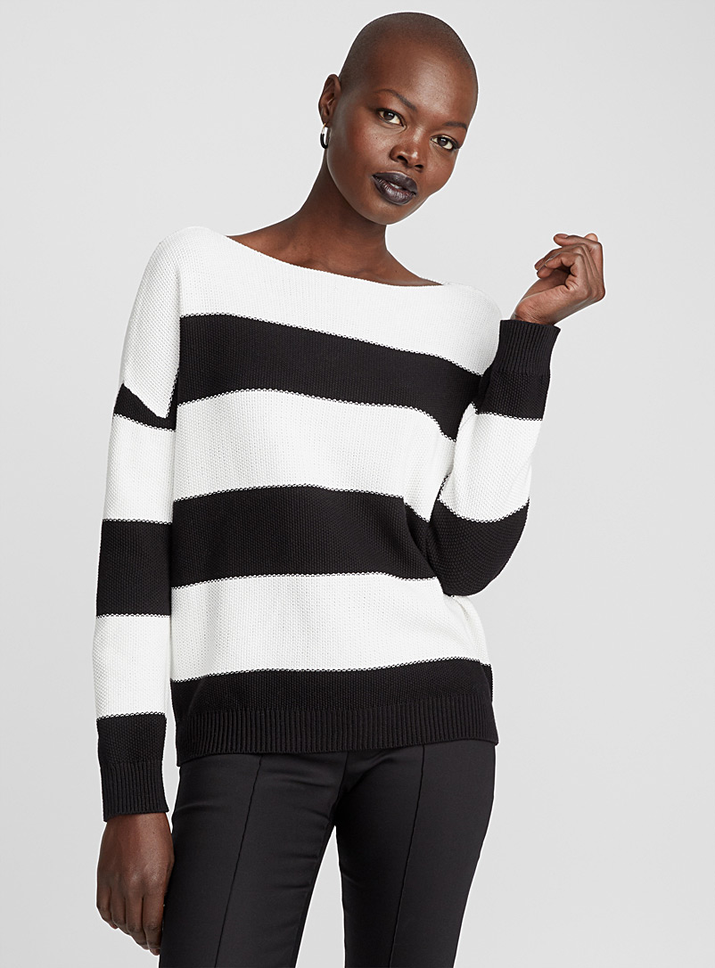 le-pull-ample-rayures-blocs