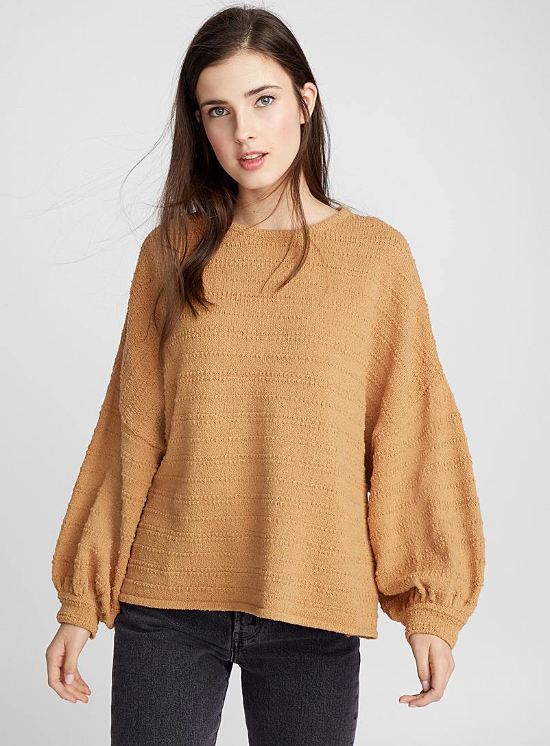 Balloon-sleeve sweater - Sweaters - Toast