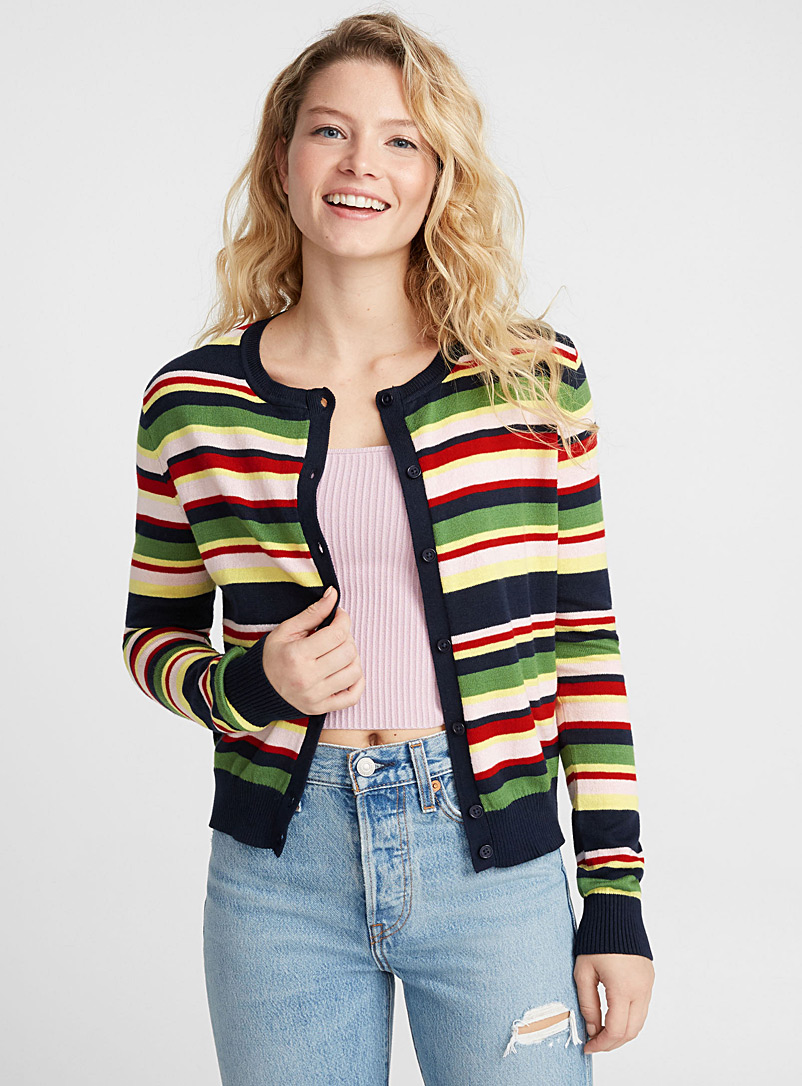 multi-stripe-cardigan