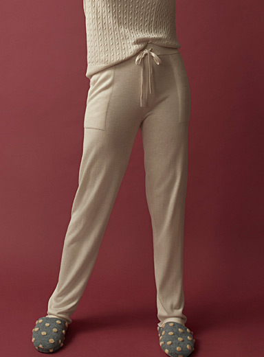 Cashmere-touch pant