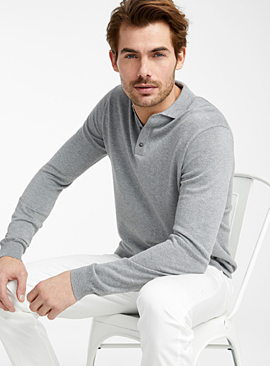 TENCEL modal polo sweater