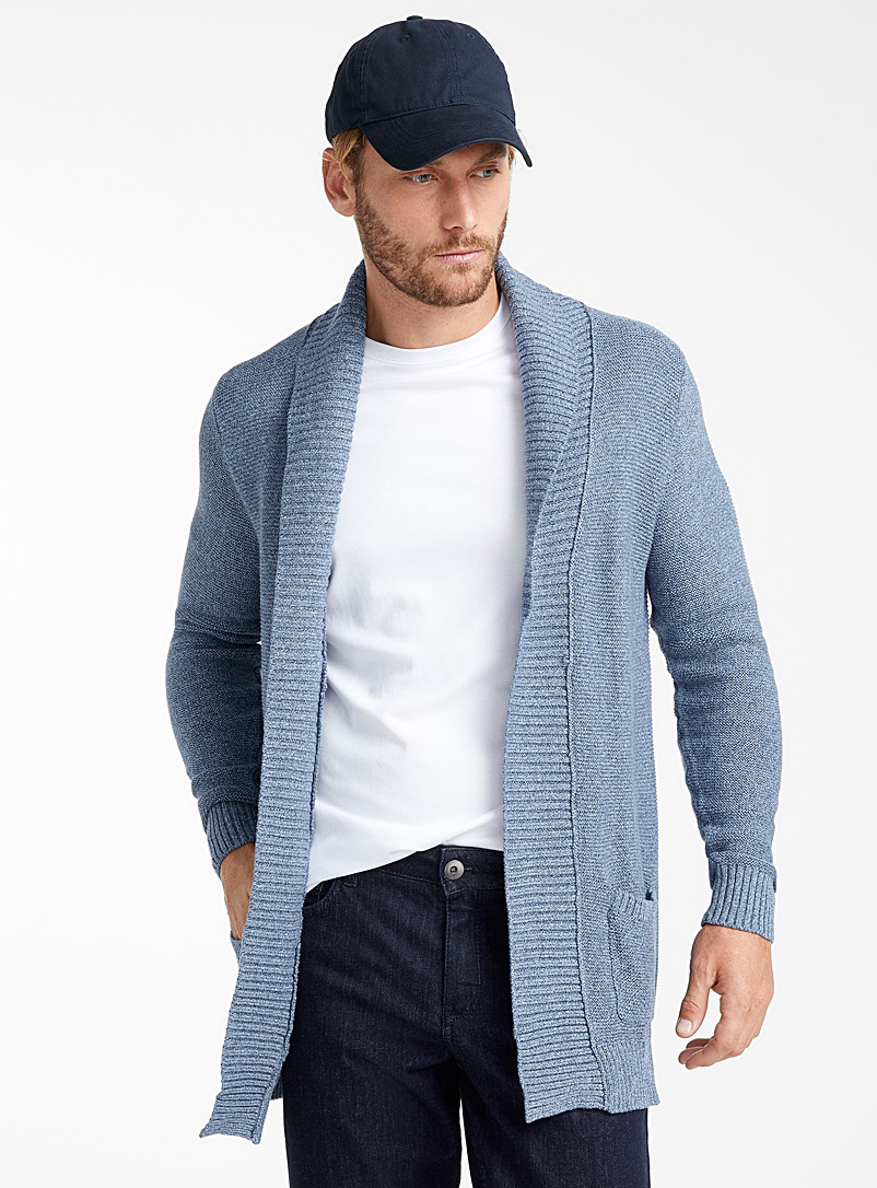 ribbed-knit-open-cardigan