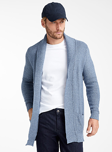 Le cardigan maille zigzag