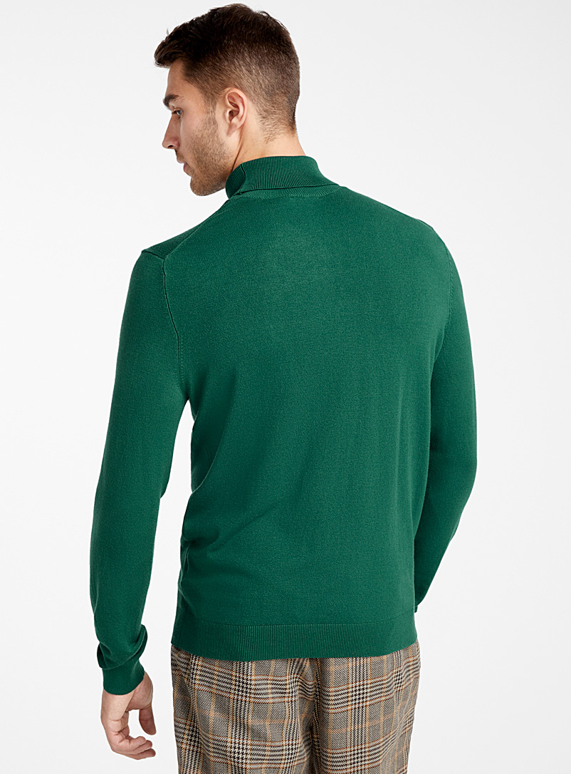 Turtleneck sweater - Turtlenecks & Mock necks - Green