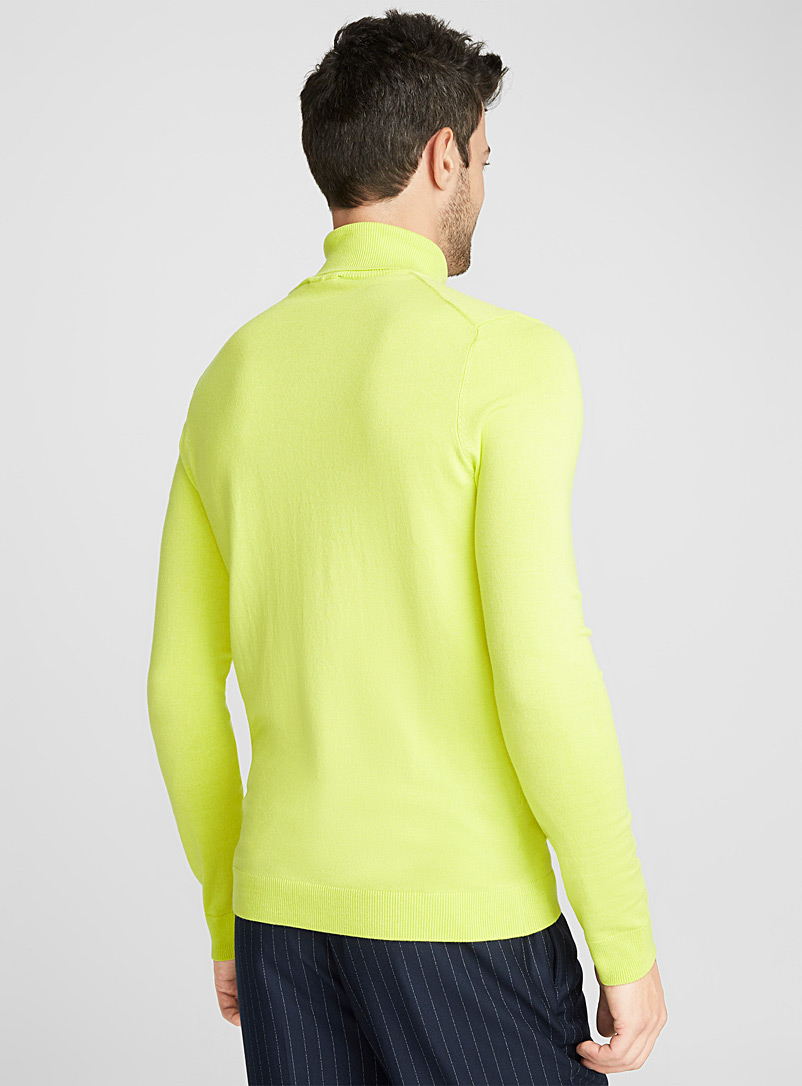 Turtleneck sweater - Turtlenecks & Mock necks - Light Yellow