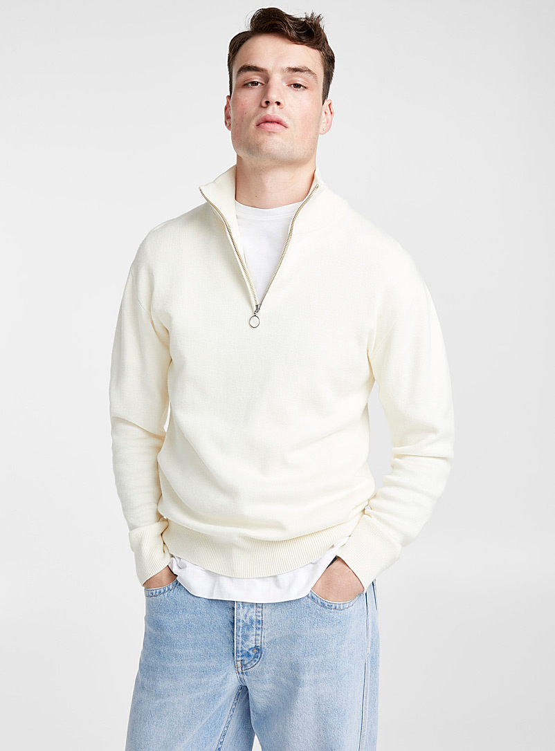 half-zip-neck-sweater