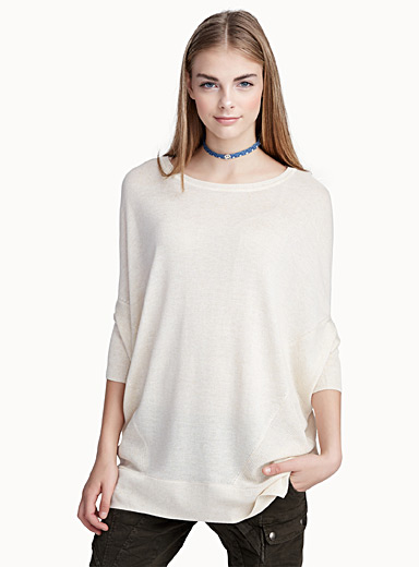 Touch of linen loose sweater