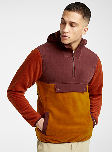UnClassic hooded cotton fleece sweatshirt