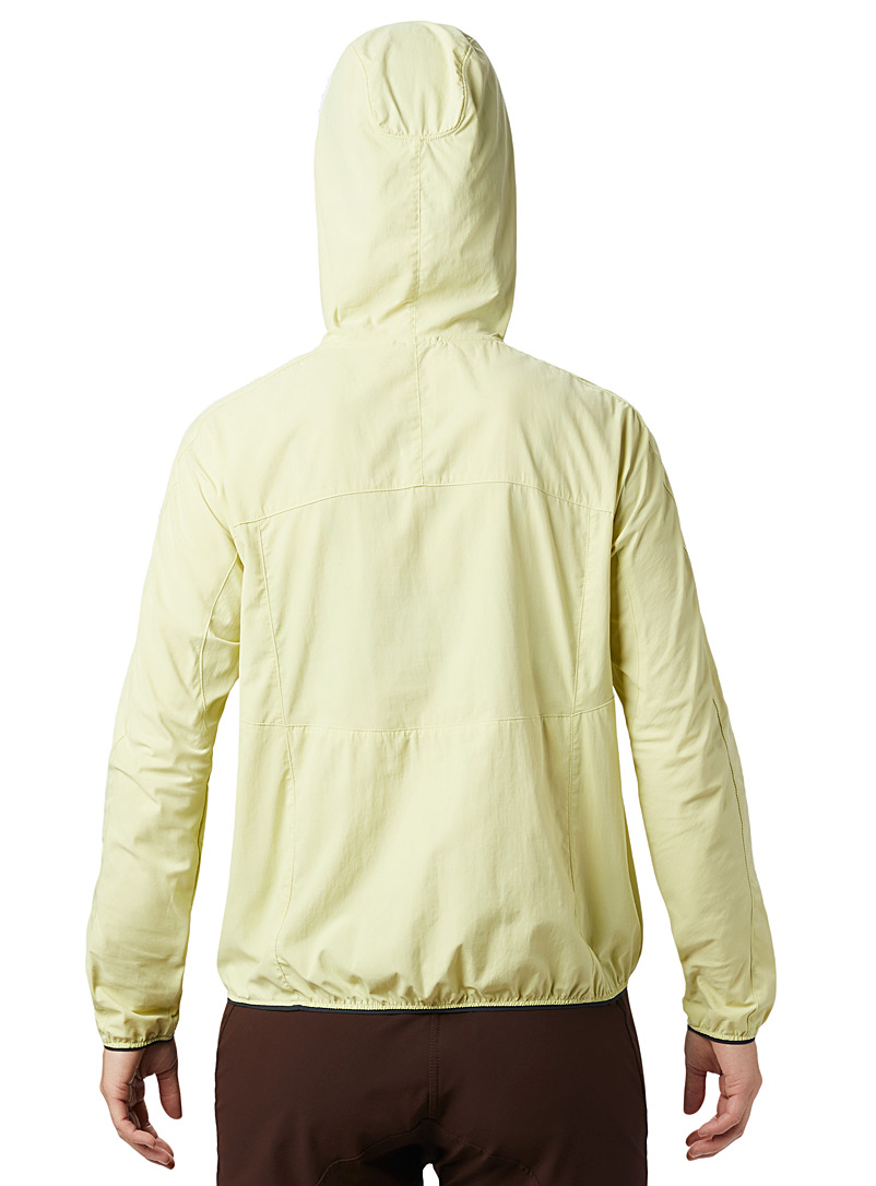Mountain Hardwear Bright Yellow Echo Lake summer nylon anorak for women