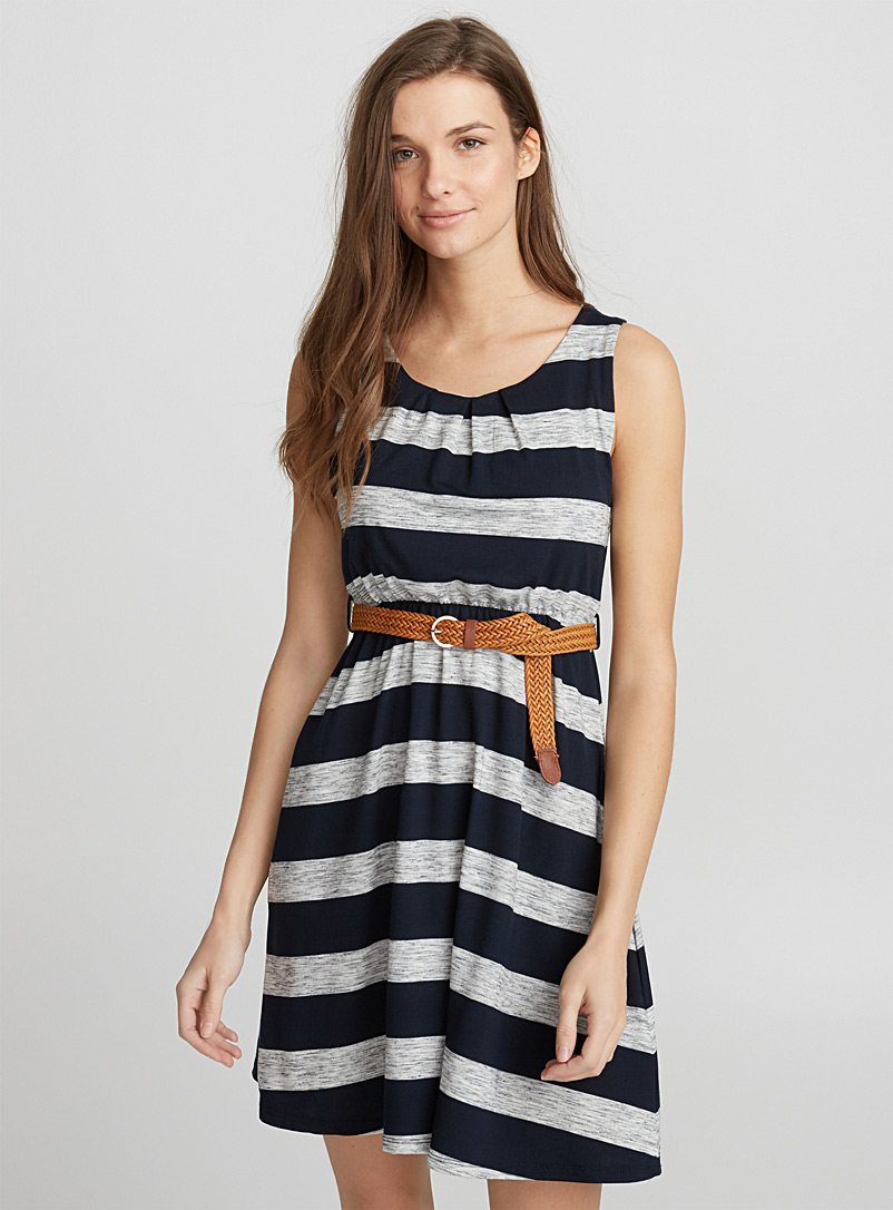 braided-belt-fluid-dress