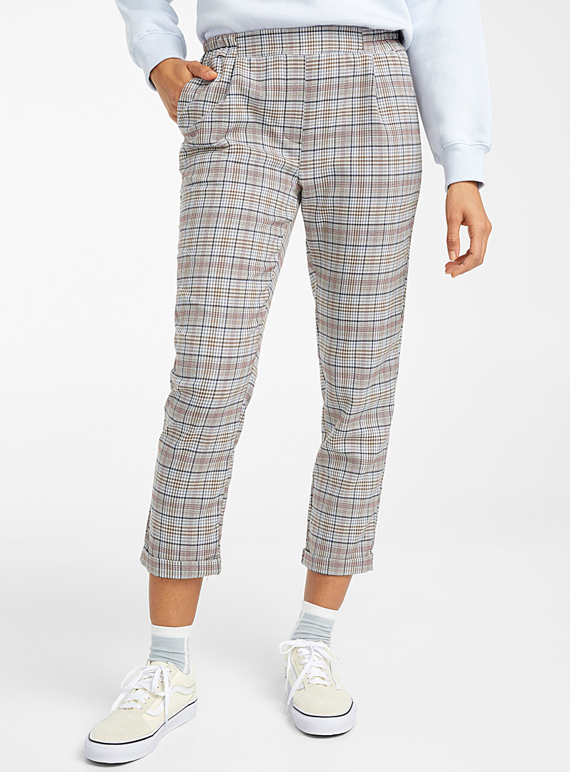 Twik Assorted Woven ankle-length pant for women