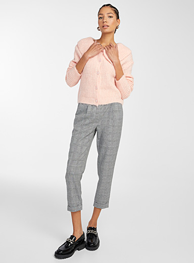Woven ankle-length pant
