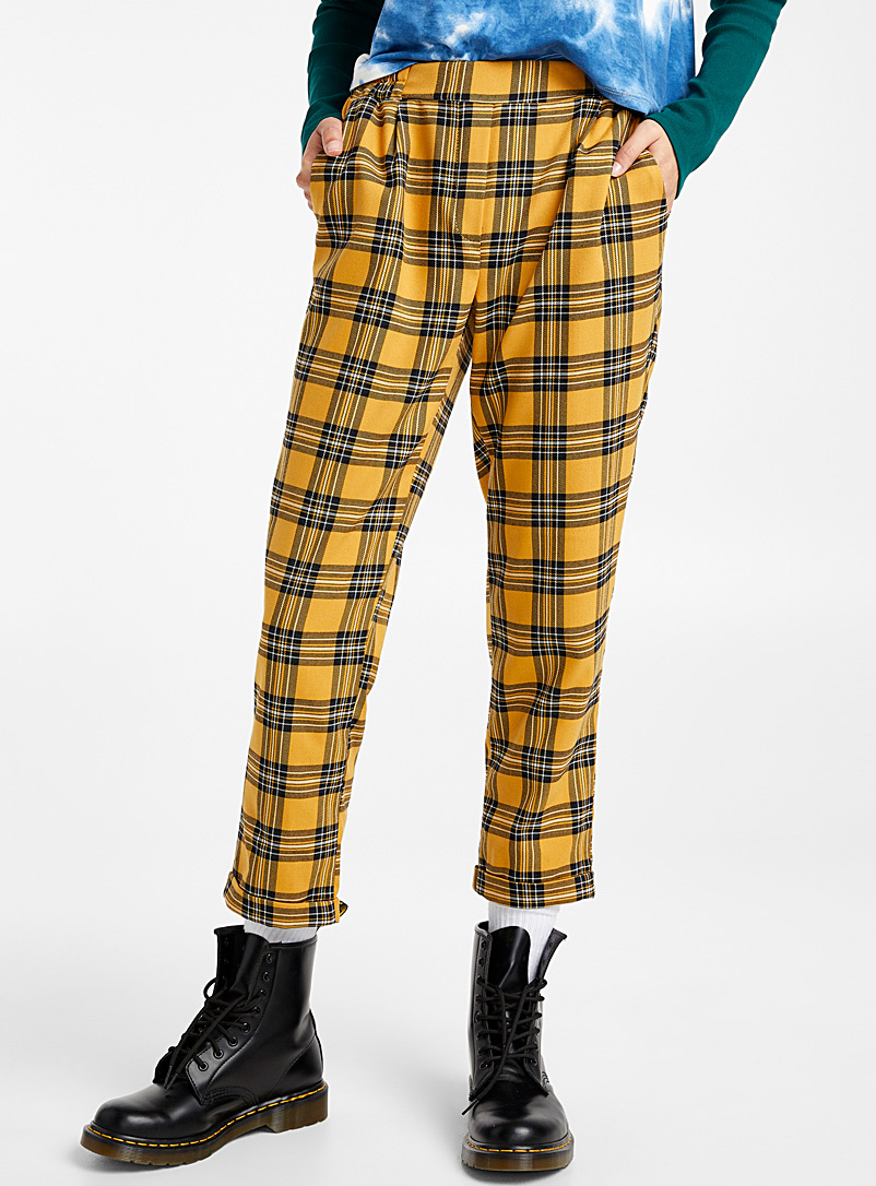Woven ankle-length pant - Semi-Slim - Assorted