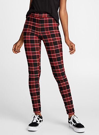 English tartan legging