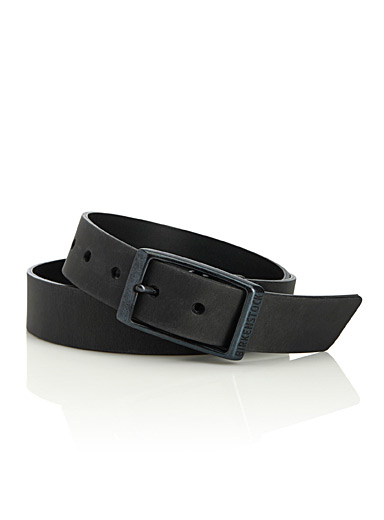 Kansas leather belt