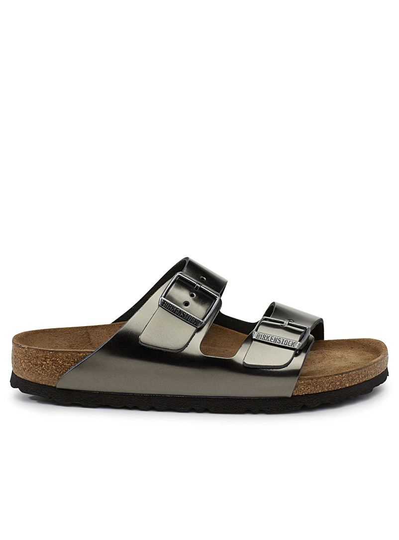 Metallic Arizona sandals  Women - Sandals - Grey