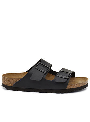 Black Birko-Flor Arizona sandals