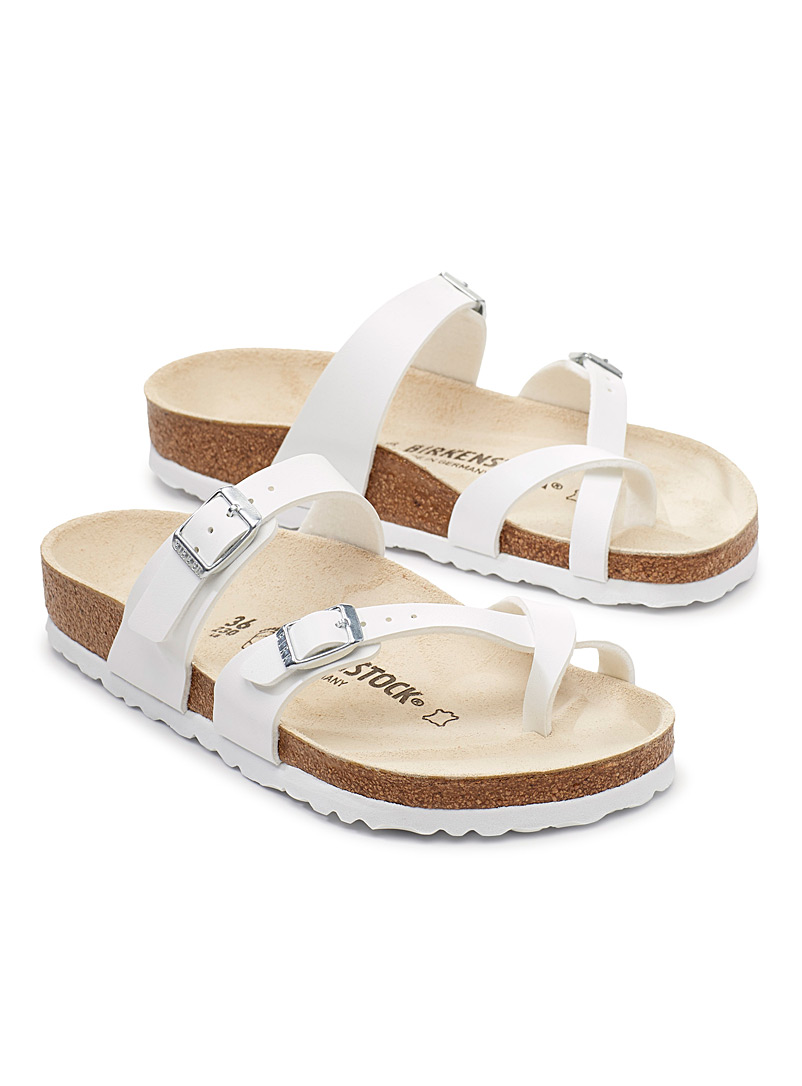 Birkenstock White Mayari sandals for women