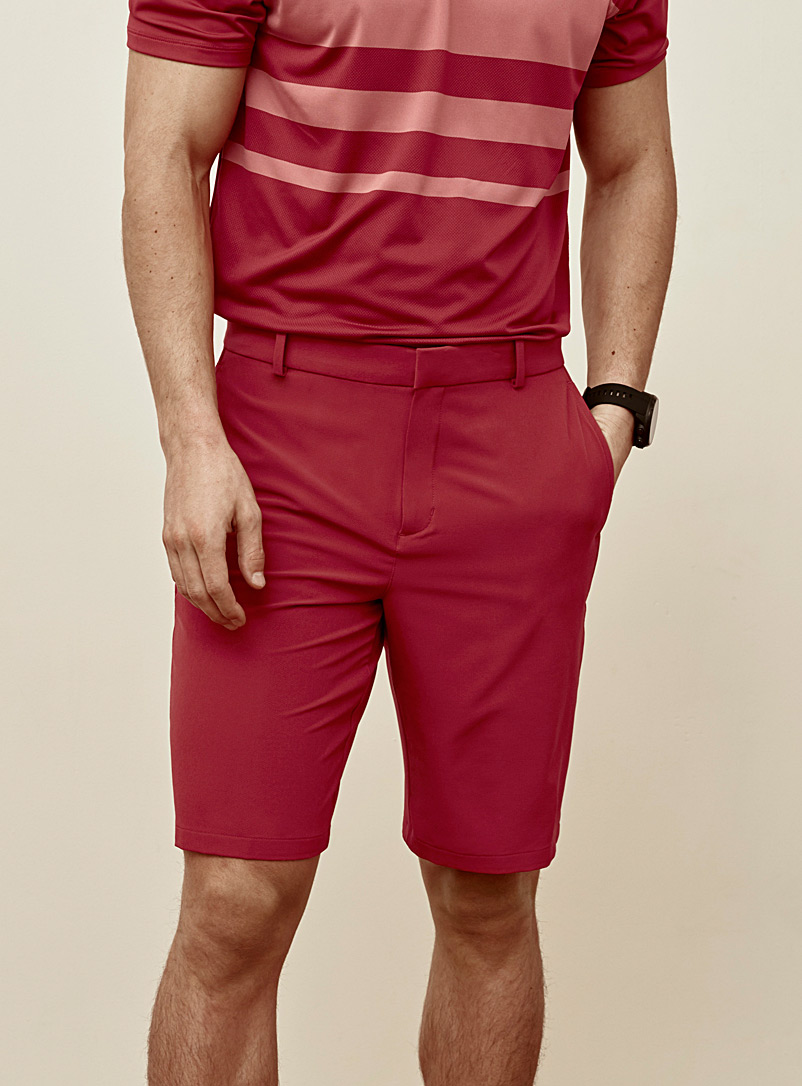 Nike Golf Red Flex band short for men