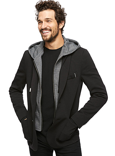 Hooded jacket  Semi-slim fit