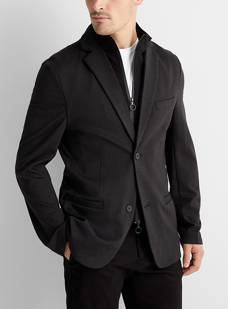 Stretch 2-in-1 jacket  Semi-slim fit