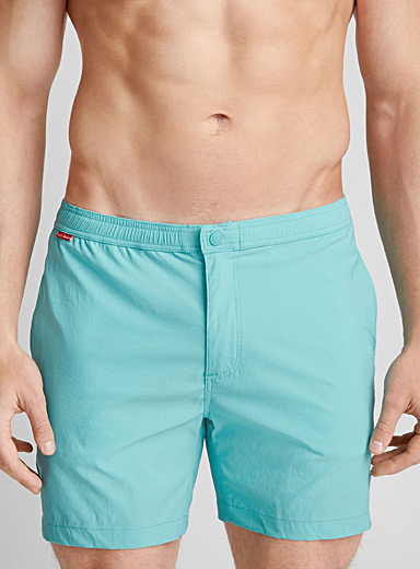 Nautical band swim trunk
