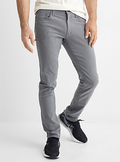 Piqué performance techno pant Slim fit