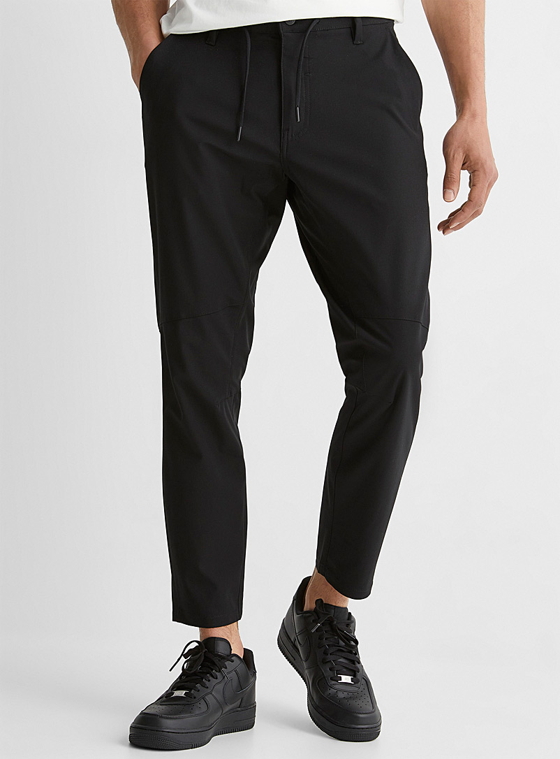 Projek Raw Black Performance techno pant for men