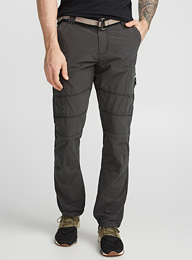 Convertible cargo pant <br>Straight fit