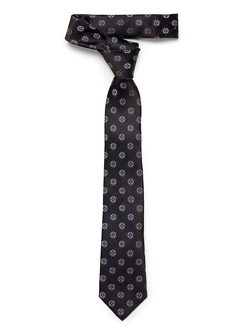 Nocturnal mosaic tie - Regular Ties