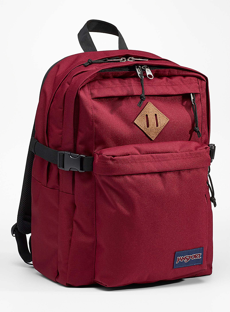JanSport Ruby Red Campus recycled backpack for women